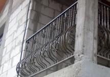 balcon fier forjat 301